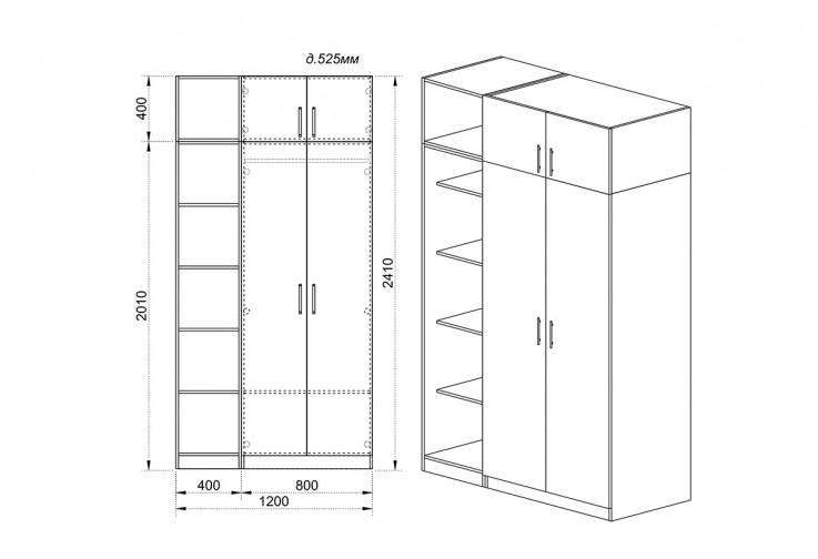 Модулен гардероб Dress 10