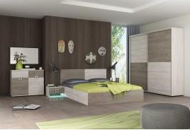 Спален комплект ЕМИЛИ - Бланко и Норте