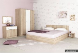 Спален комплект МАРЕА – Дъб Сонома
