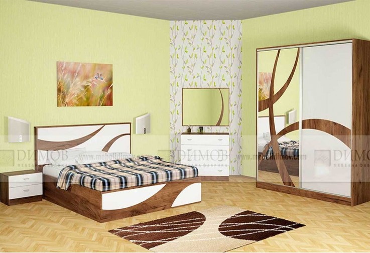 Спален комплект ОФЕЛИЯ - избор на цвят