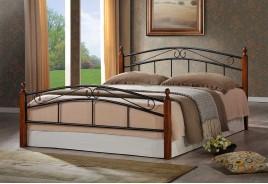 Легло за Спалня Napoli  160/200 - Тъмен орех