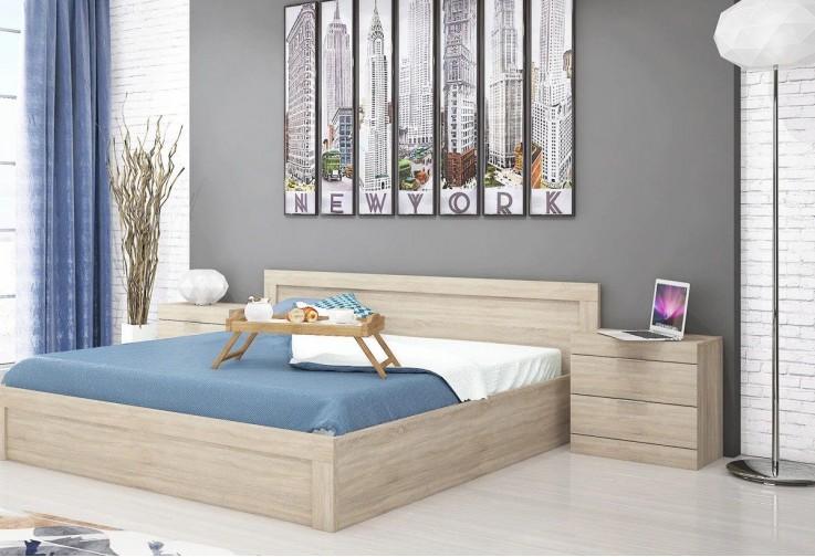 Спалня с нощни шкафчета СИТИ 7002
