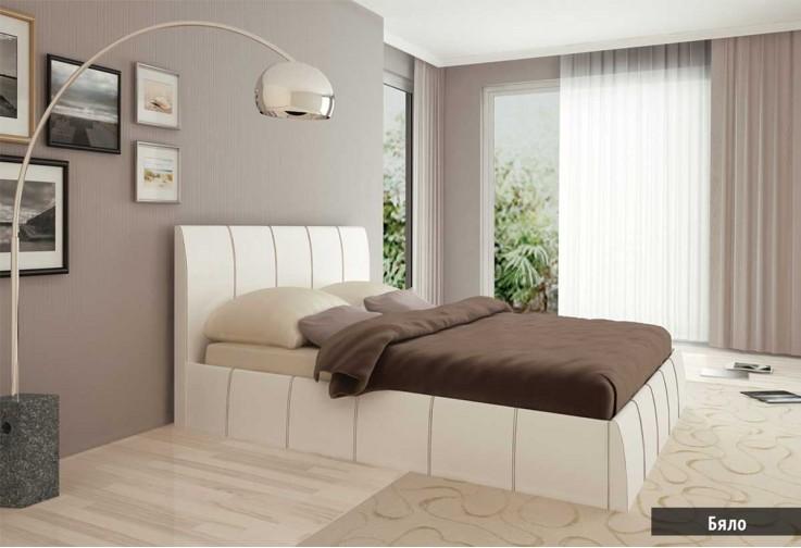 Тапицирано легло КАПРИ - избор на цвят