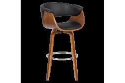 Бар стол КАРМЕН 4040 - орех / черен