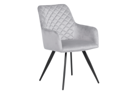 Трапезен стол ETON - светлосив BF 2