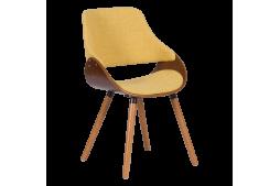 Трапезен стол КАРМЕН 9973 - орех / жълт