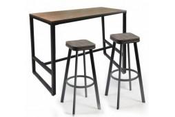 Правоъгълна маса за бар столовеBarsi