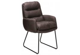 Стол К307 - Тъмно кафяв
