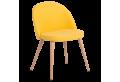 Трапезен стол КАРМЕН 514 -ярко жълт MB